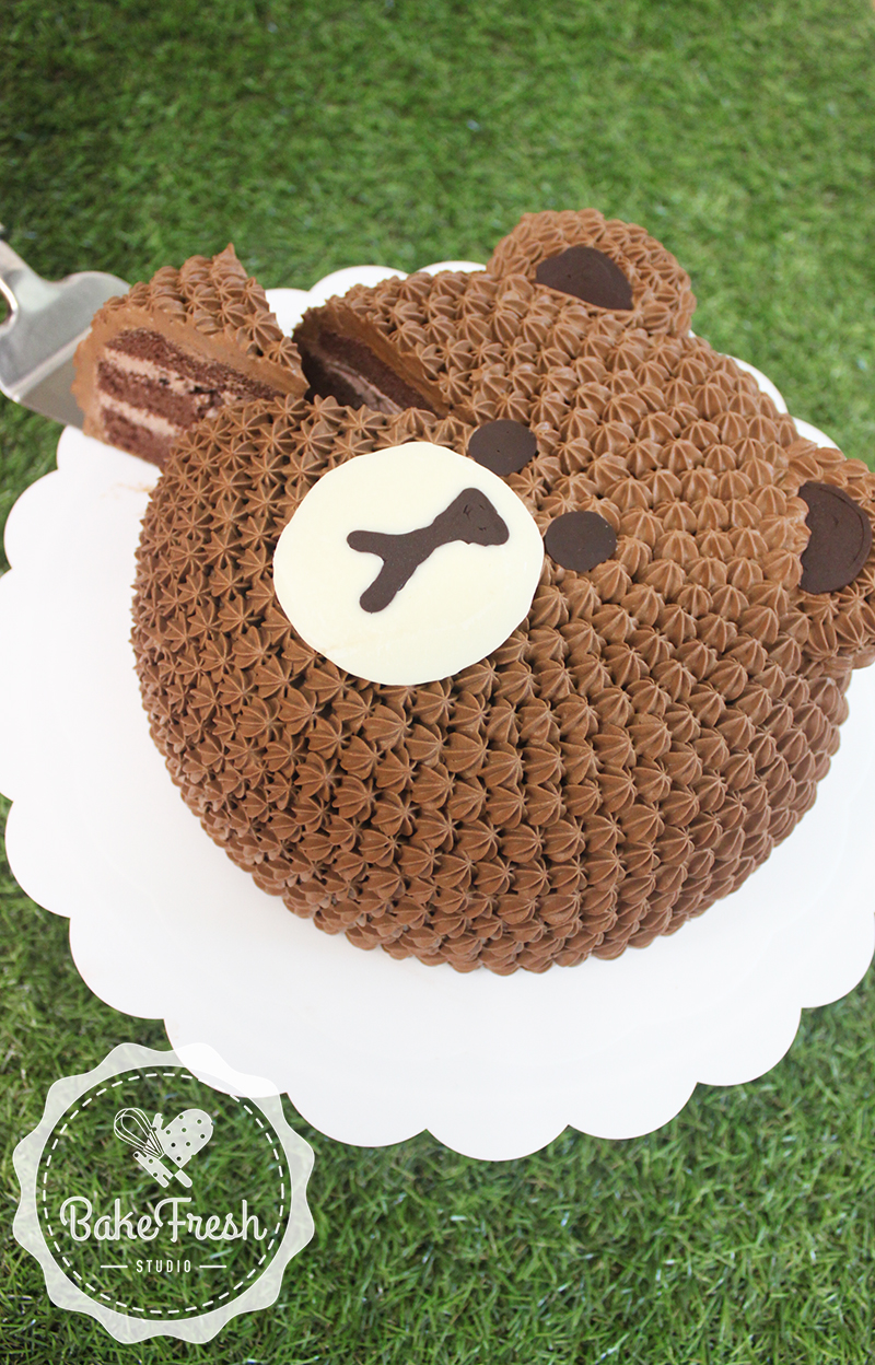 Line Bear Cake Decoration Bakefresh