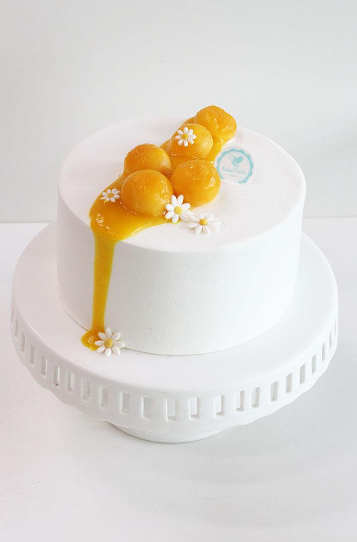 Contemporary Cakes ( Blueberry Yogurt Cake & Mango Passionfruit Cake ...