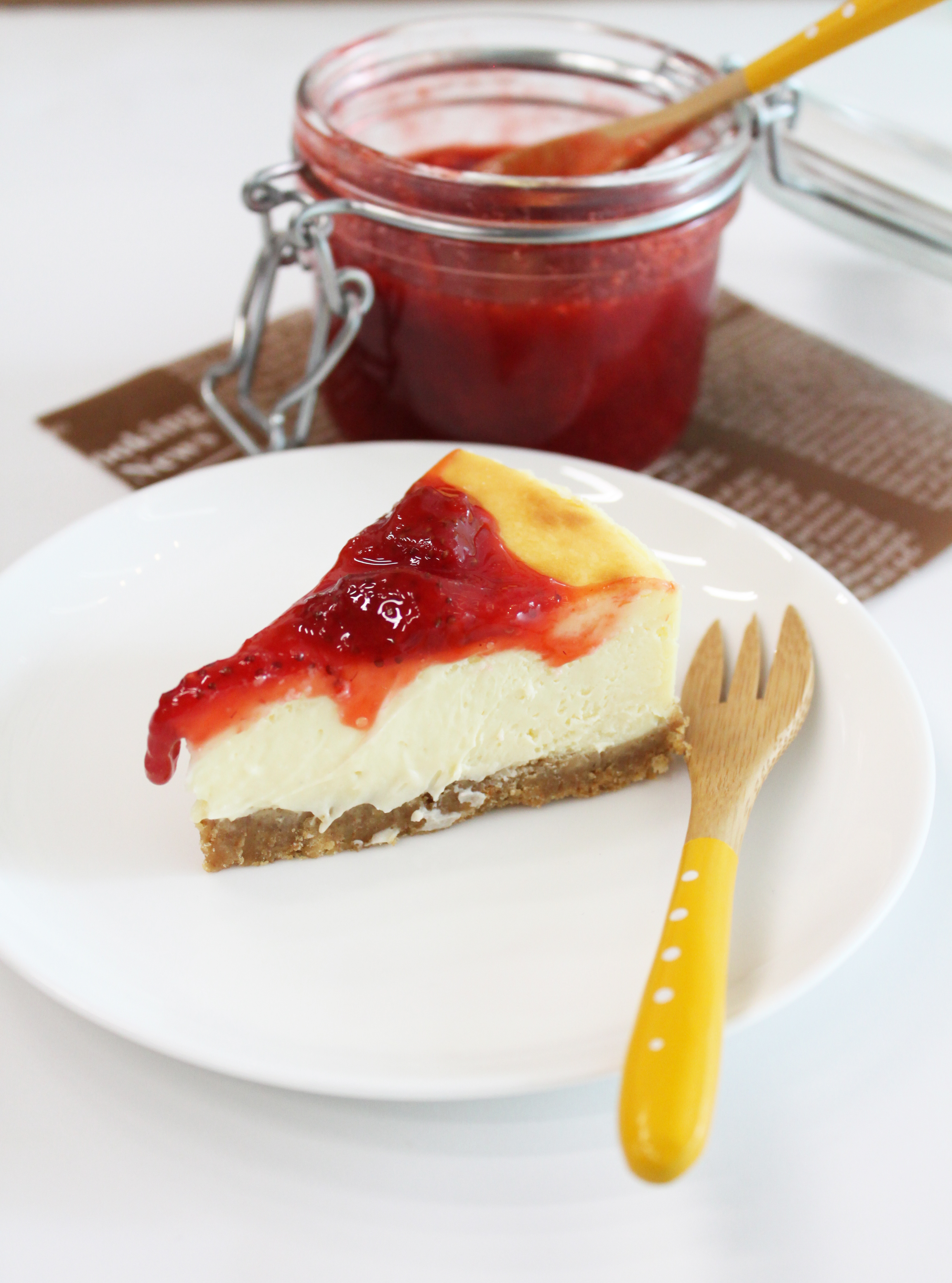 Classic Cheesecake with Fruit Compote – Bakefresh